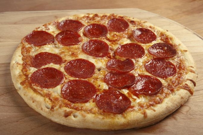 Large Pepperoni Pizza Calories