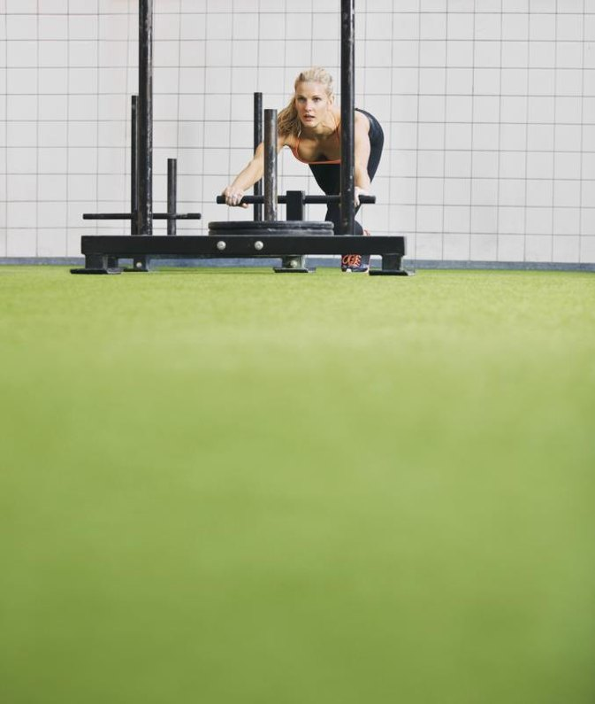 Weight Sled Training