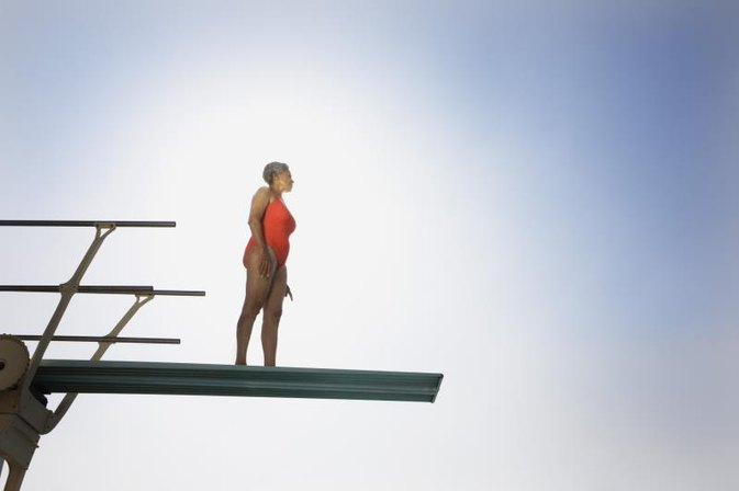 How to Dive Off a Diving Board