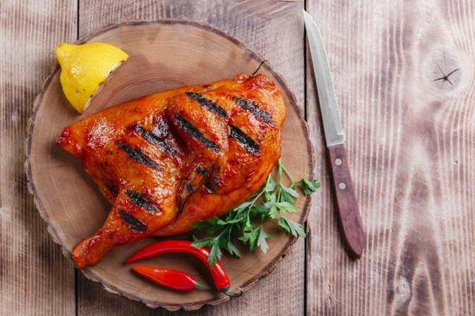 How to Cook Chicken Halves on a Weber Grill