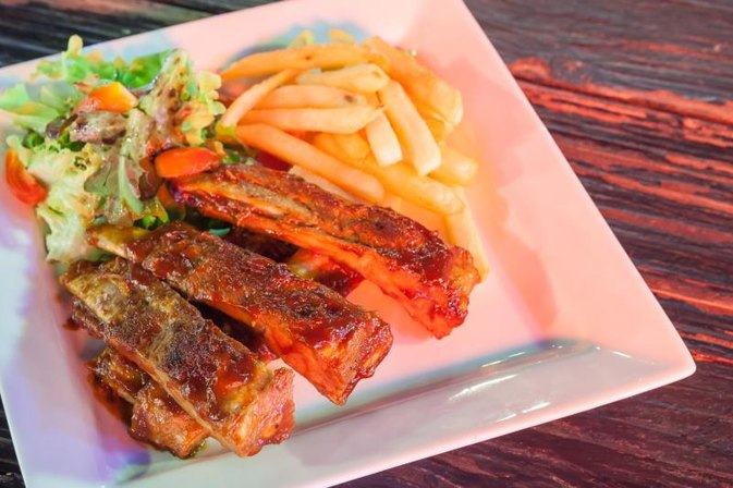 Nutrition in Chinese Boneless Spareribs