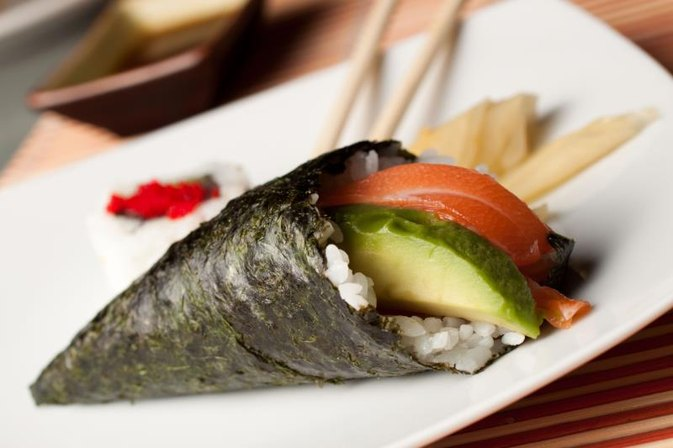 Spicy Tuna Hand Roll Nutrition Information