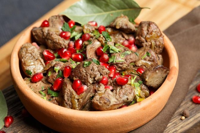 Beef Liver Nutrition Information