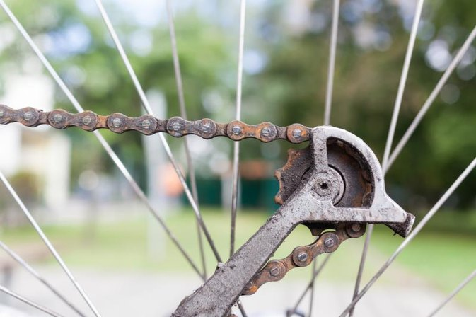 How to Get a Bike Chain Back on the Gears