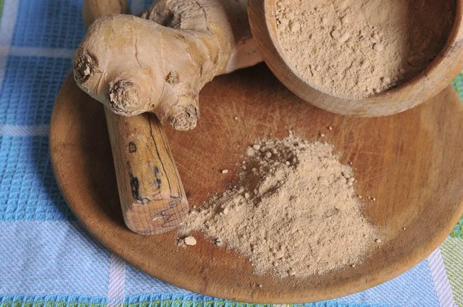 Dry Ginger Powder for Weight Loss