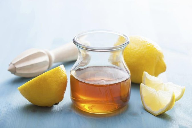 Lemon Juice, Honey & Hot Water for a Cough