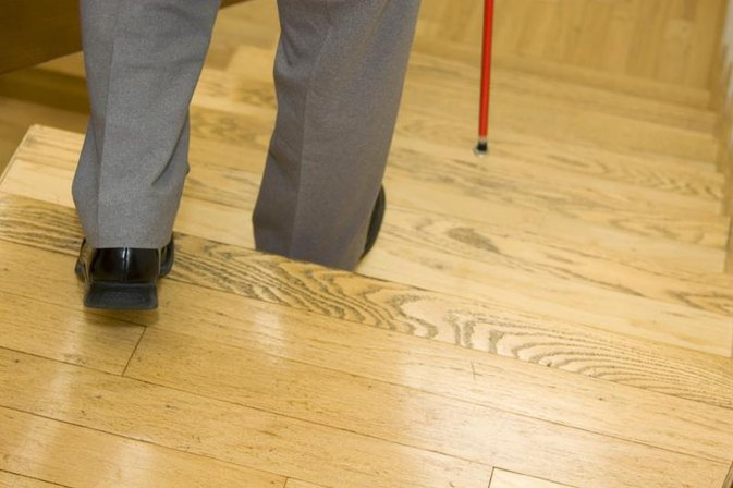 Daily Living Activities for a Blind Person