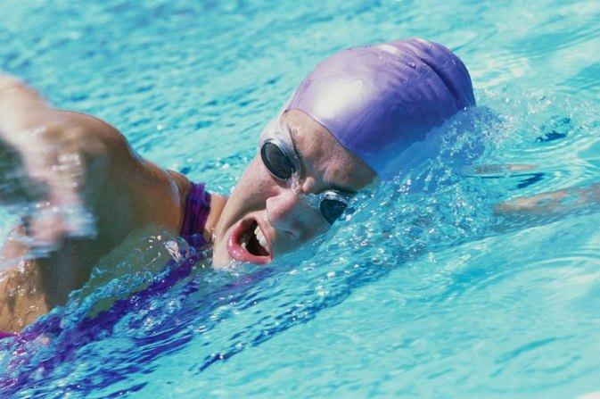 Exercise to Improve a High Elbow in Freestyle Swimming