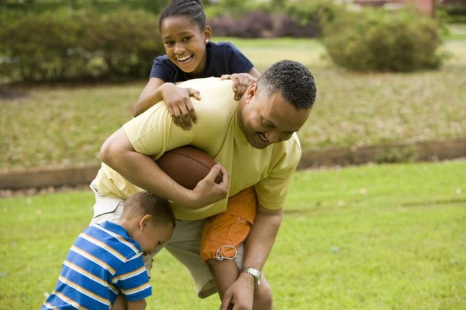 Football Games for Kids to Play Outside