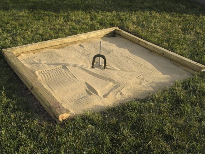 how to build a regulation horseshoe pit livestrong com