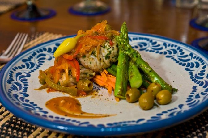 How to Bake Rockfish With Lemon