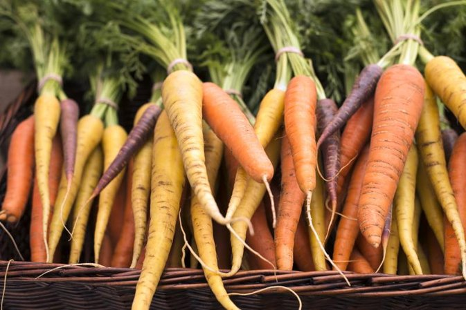 How Much Beta-Carotene Is in Carrots?