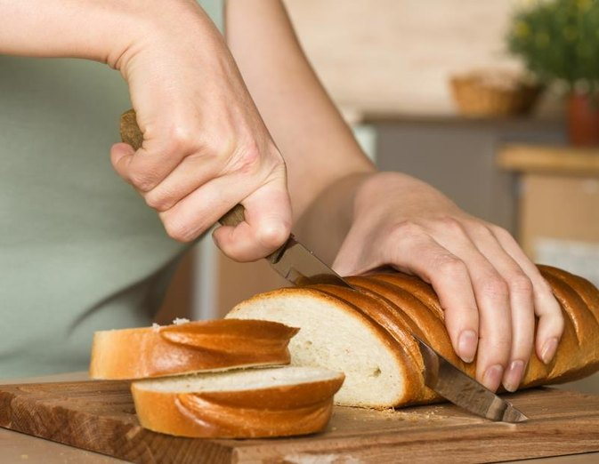 Gluten Content in White Bread