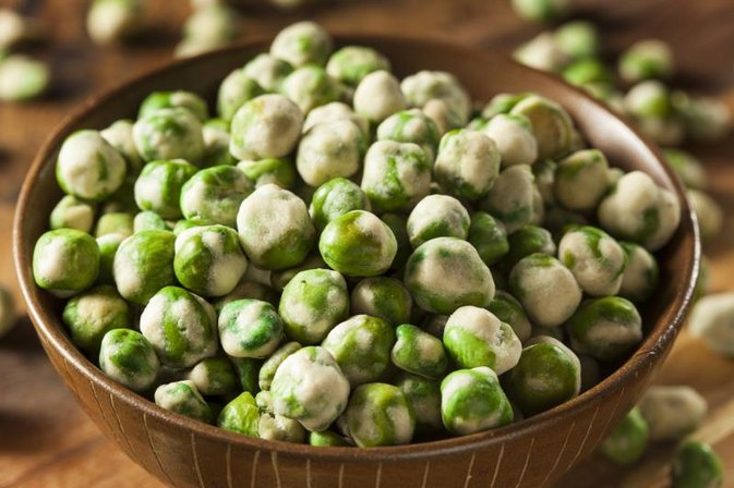 Carbohydrates in Wasabi Peas