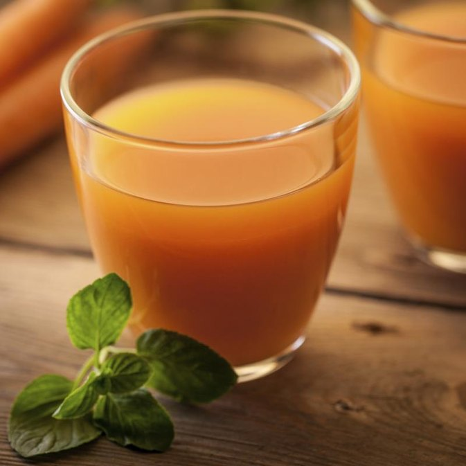 Drinking Fresh Carrot Juice to Reduce Belly Fat