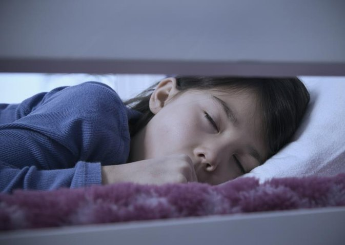 What is the Best Way for a Child to Sleep When Coughing?