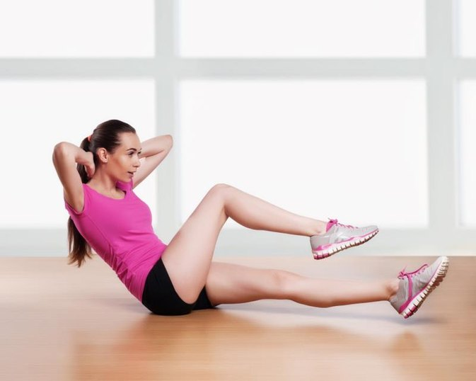How to Tone Up & Burn Fat & Calories While Lying Down