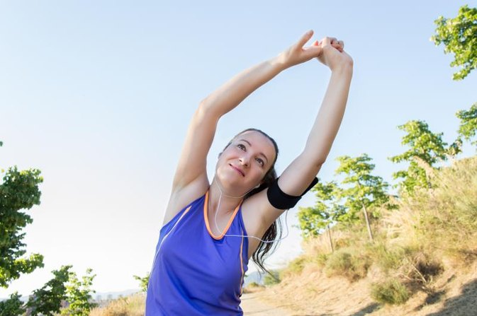 How to Run for Slim Arms