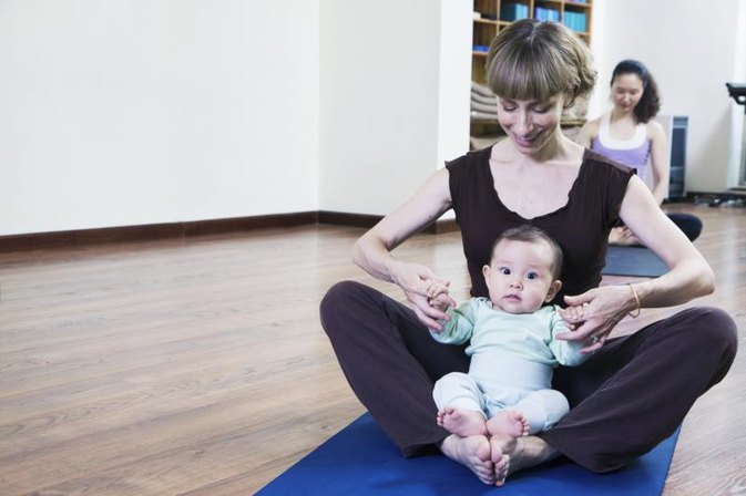 Physiotherapy Exercises at Home to Help With Baby Sitting Up