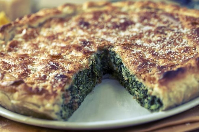 Nutrition in Spinach Pie
