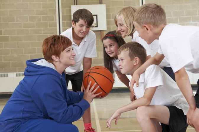 Physical Activities in a Small Gym for High School Students