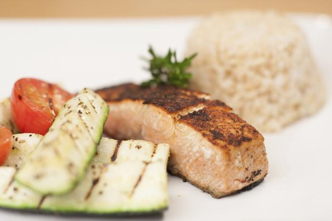 Low-Fat, High-Protein Diet Menu