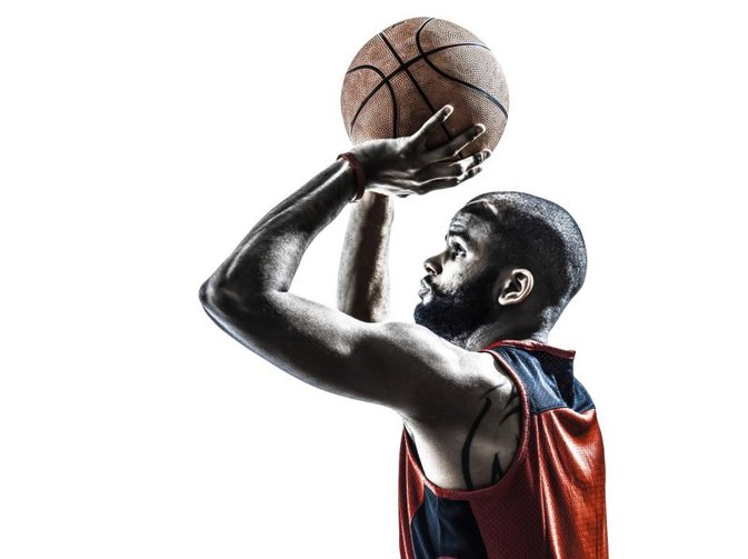 How to Shoot a Basketball Like Lebron James