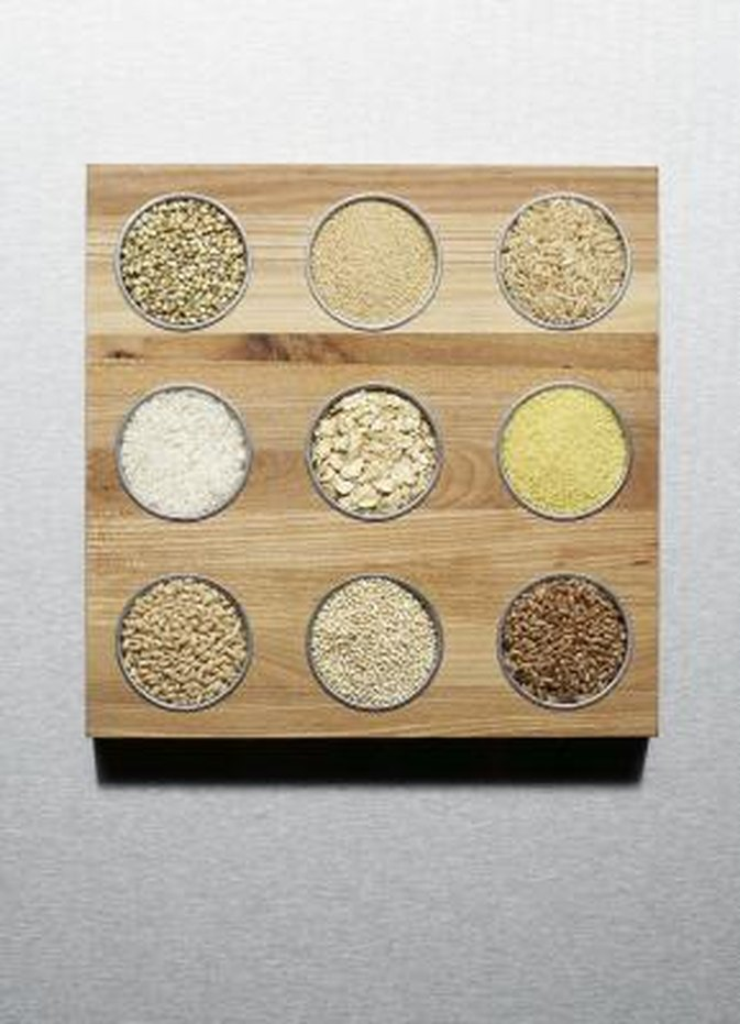 Types of Grains & Cereals
