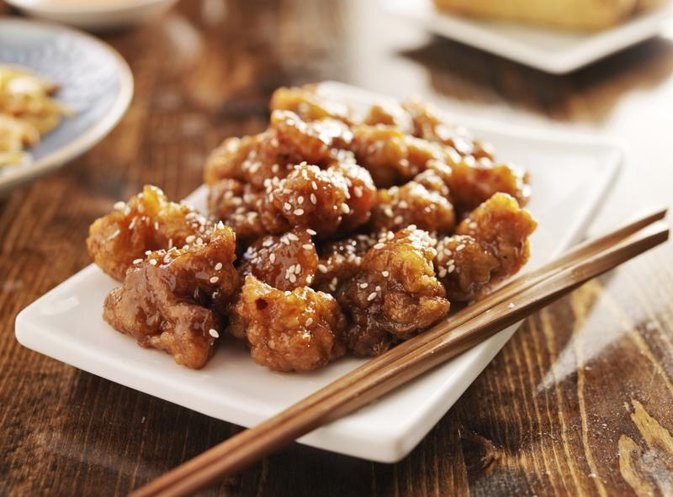 Chinese Food: Calories in Sesame Chicken