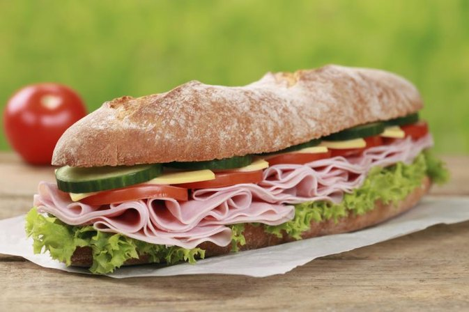 Image result for american sandwiches are high in calories
