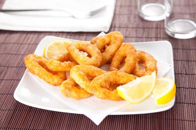 How to Batter & Fry Calamari
