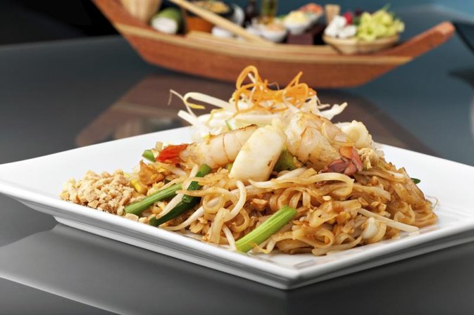 Nutrition Information for Pad Thai