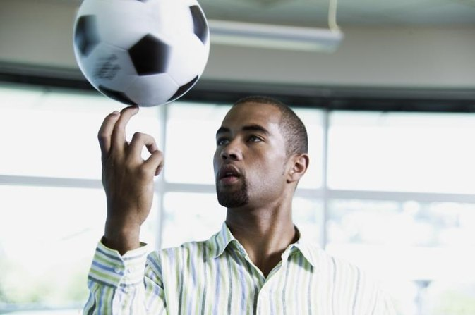 Why Are Soccer Balls Black & White?