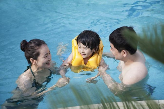 How Is Swimming Good for Kids?
