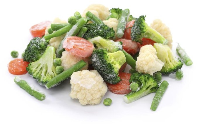 Ways to compare fresh versus frozen vegetables livestrong com