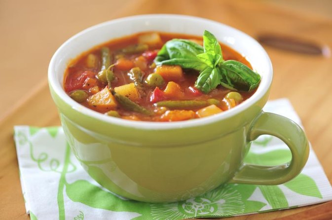 Sacred Heart Vegetable Soup Diet | LIVESTRONG.COM