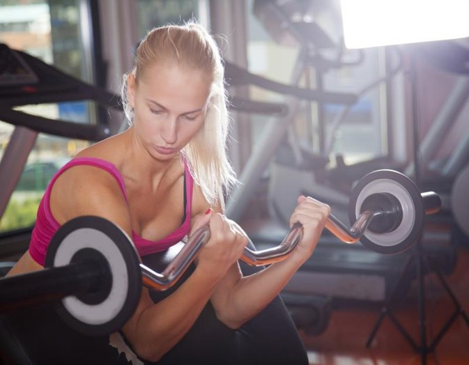 A Chest, Arms and Back Workout for Women