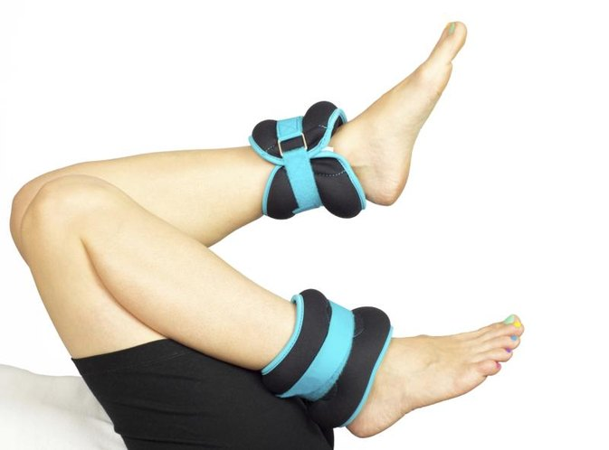 How to Put on Ankle Weights Properly