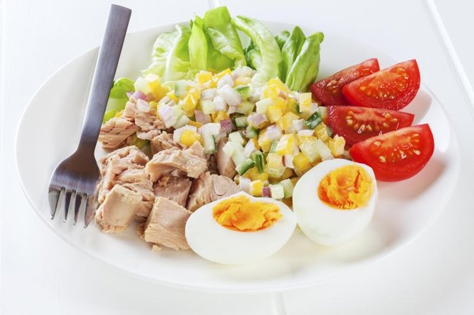 Tuna and Egg Diet for Weight Loss