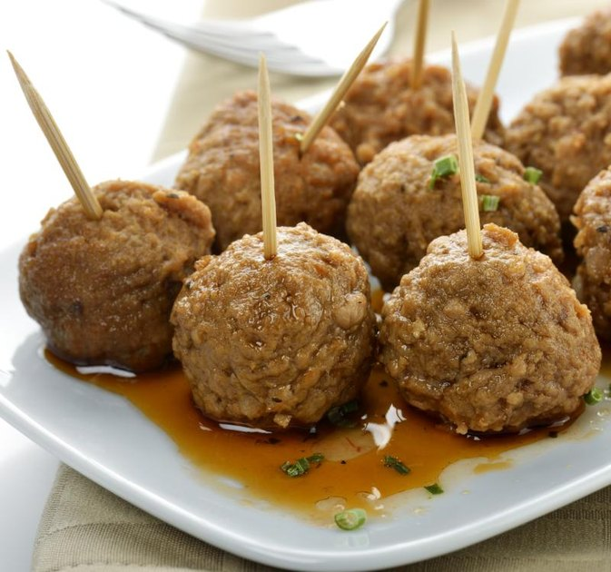 Fry or Oven Cook Meatballs