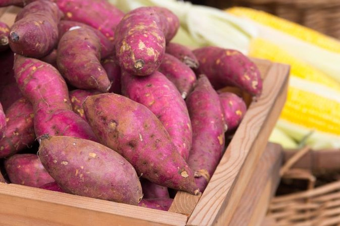 How to Bake Purple Yams