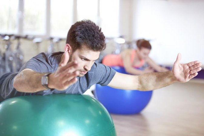 How to Use the Gym Ball for Weight Loss