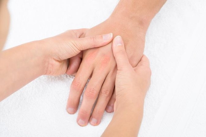 Energy Meridians on the Hands for Reflexology