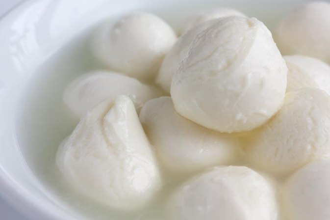 Calories in Bocconcini Cheese