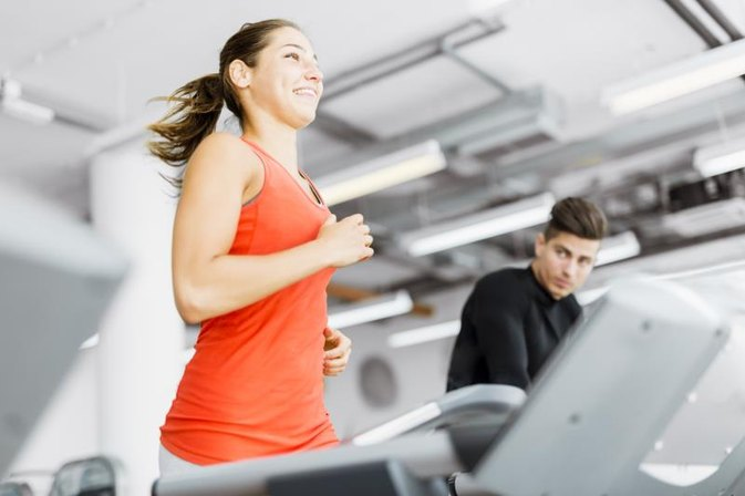 Cardio Vs. Fat Burn on a Treadmill