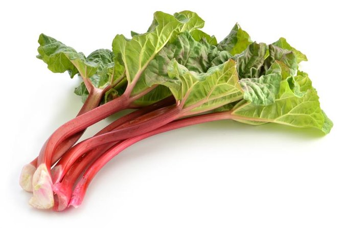 How Many Calories Are in a Cup of Cooked Rhubarb With No Added Sugar?