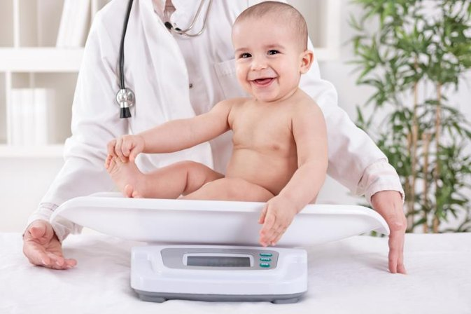 How Much Weight Does a Baby Gain in His First Year?