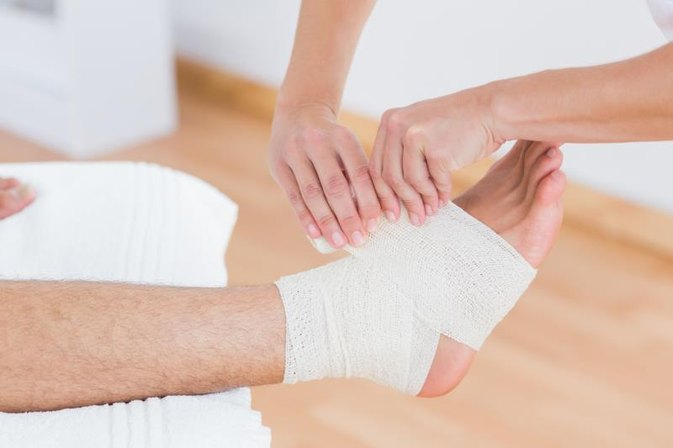 What Are the Treatments for a Sprained or Torn Ligament in the Foot?
