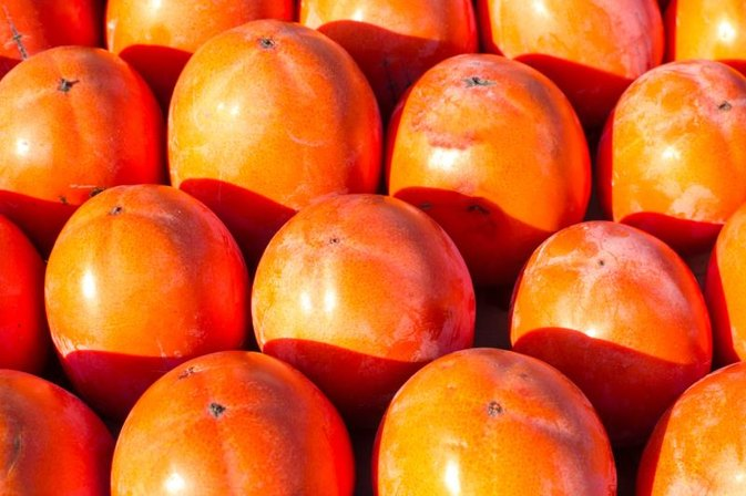 How to Peel a Persimmon