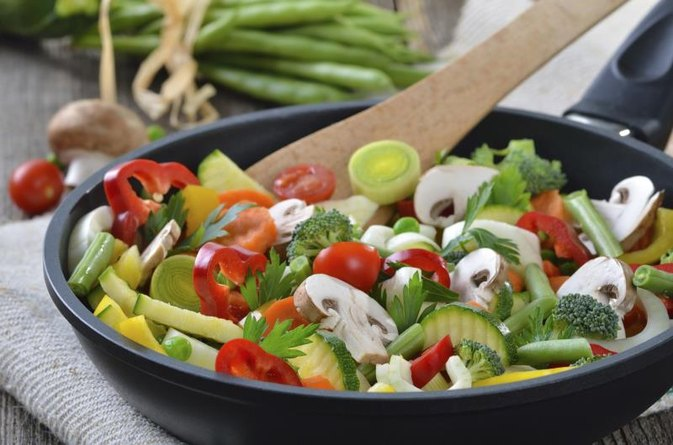 How to Cook Vegetables in a Skillet